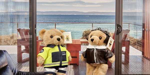 Tasbuilt Commercial welcomes Doctor Bear Ruth and Pilot Bear Henry to the team!