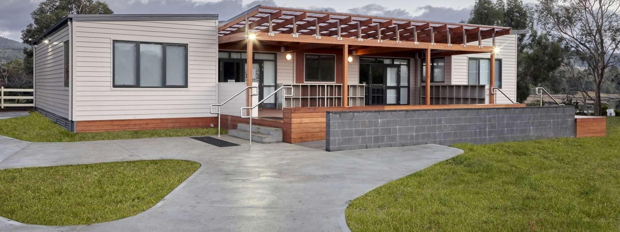 Tasmanian modular school in tasmania