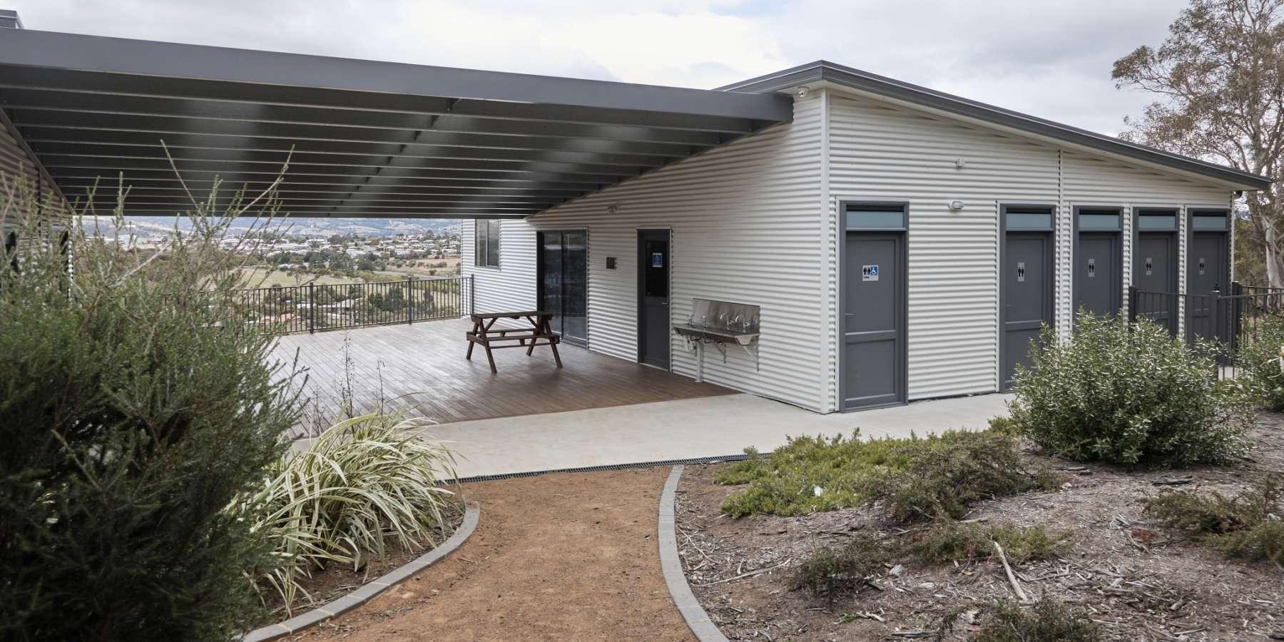 Modular School with toilet block