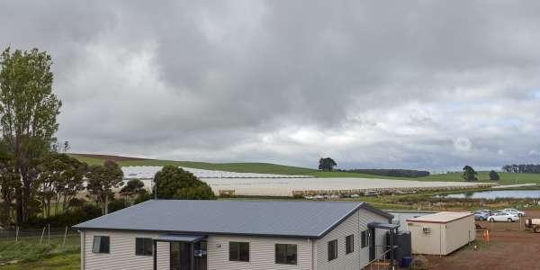 Recent project – prefabricated farm office