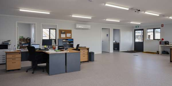 What is the floor space I need per employee in an office environment?