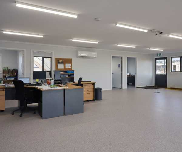 Large Open Plan Modular Offices