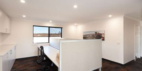 Fit out ideas for modular office buildings