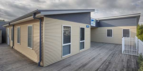 What is the cost of a portable office in Tasmania?