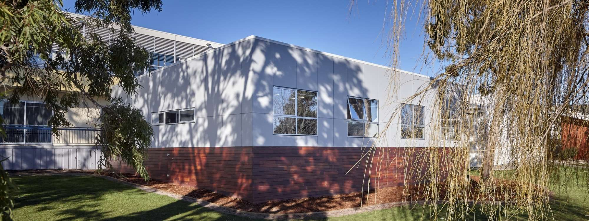 Large school room with cladding in tasmania