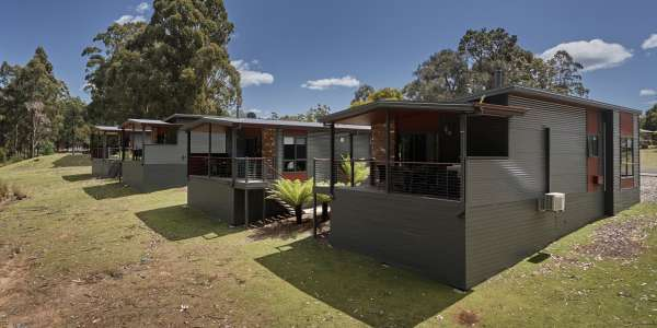 What Tasbuilt Commercial offers new or expanding cabin parks in Tasmania..