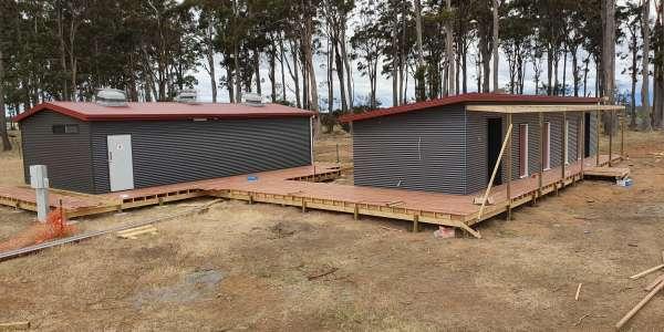 A Progress Update - Rural Youth Camp Building, Carrick