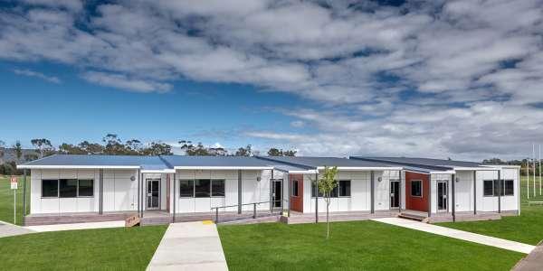 Introducing modular change rooms in Tasmania