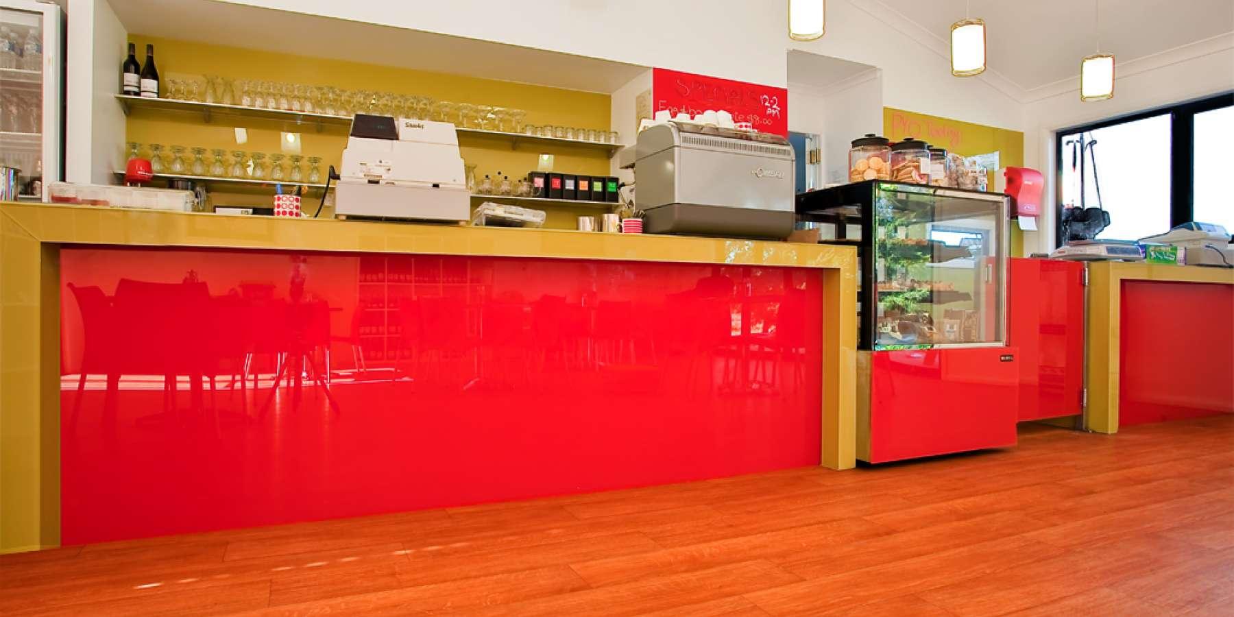 Strawberry farm cafe modular building