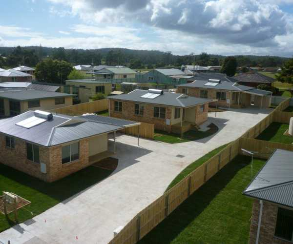 Tasbuilt multi-unit development in Latrobe