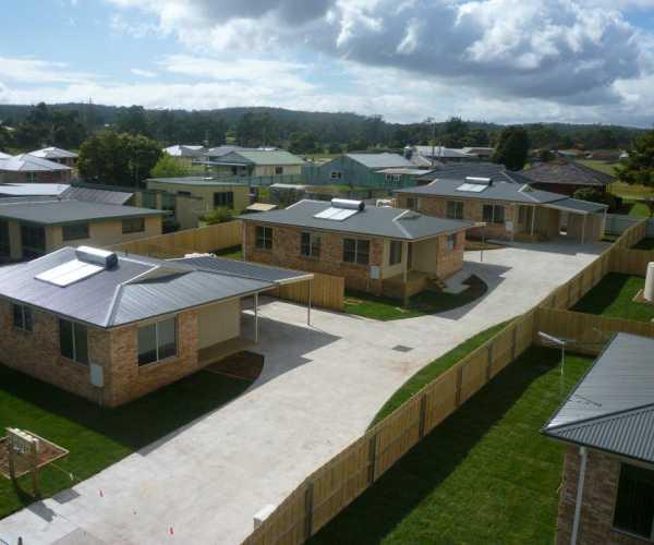 Tasbuilt multi-unit development in Latrobe